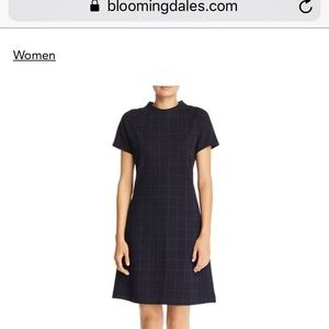 Theory Windowpane dress from Bloomingdales
